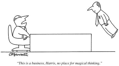 This is a business, Harris