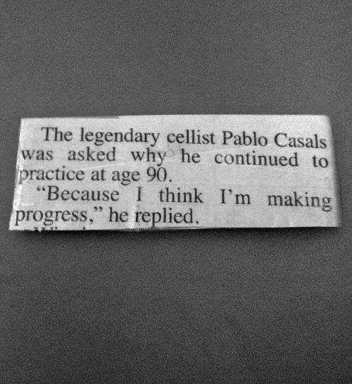 Pablo Casals at 90